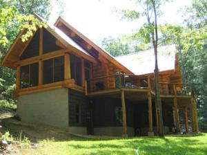 Enjoy this beautiful cabin - Logged Off!